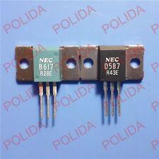1pair Transistor NEC MT-100 2SB617/2SD587 B617/D587