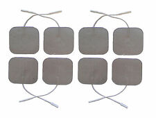 Silver Tens Electrode Pads Premium Quality TENS Pads Set of 8 Electrodes 5 x 5cm
