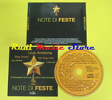 CD NOTE DI FESTE compilation PROMO SINATRA ARMSTRONG COLE(C1)no lp mc dvd vhs