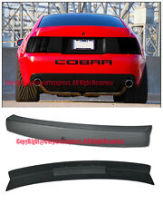 For 99-04 Ford Mustang CBR Style Rear Trunk Spoiler Wing W/ Brake Light Insert