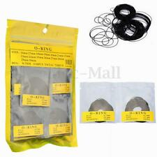 750 Pcs 0.7MM O-Ring Watch Back Gasket Rubber Seal Washers Size 16 mm - 30 mm