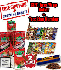 22x Variety Packs Juicy Jays Flavored Double Blunt Wraps + GIFT Juicy Roller