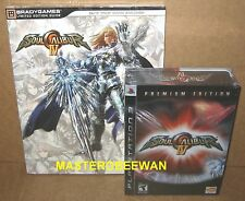 PS3 Soul Calibur IV Premium Edition New Sealed +Guide w/Soundtrack PlayStation 3