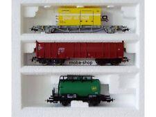 Piko 3 piezas vagones-set SBB, CFF, DB, la poste (jour et nuit), bp,... #549