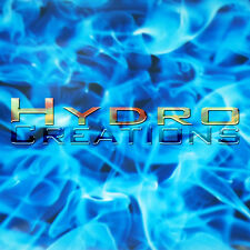 5 Sq Meters - HYDROGRAPHIC FILM HYDRO DIPPING WATER TRANSFER FILM BLUE FLAMES