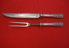 CROWN PRINCESS BY INTERNATIONAL STERLING SILVER ROAST CARVING SET 2-PC HHWS 14""