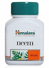 4 x Himalaya Herbal Neem Azadirachta Indica Acne Skin Care Anti Bacterial 60 Cap