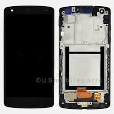 USA Black Google Nexus 5 LG D820 D821 LCD Touch Glass Digitizer Screen + Frame