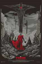 "Mondo Thor The Dark World Variant Silk Screen Print  By Ken Taylor  24"" X 36"""