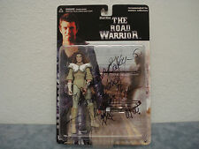 MAD MAX- THE ROAD WARRIOR, WOMAN WORRIOR SIGNED BY VIRGINIA HEY  C.O.A.