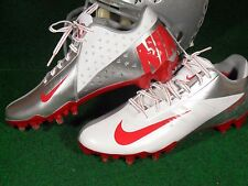 Nike Vapor Talon Elite Low TD Ohio State Buckeyes Team Issue Football Cleats PE