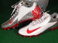 Nike Vapor Talon Elite Low TD Ohio State Buckeyes Team Issue Football Cleats PE