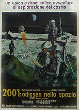 2001: ODISSEA NELLO SPAZIO   MANIFESTO ORIGINALE