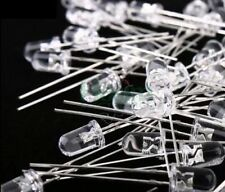 5mm Bright White LED Diodes X20 Free Postage UK