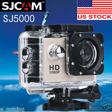 MINI SJ5000 Sport Action Camera 1080P HD DV Waterproof Camcorder Car Cam Gold