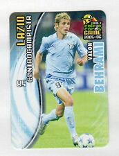 figurina PANINI CALCIO CARDS GAME 2005-06 N. 75 LAZIO BEHRAMI