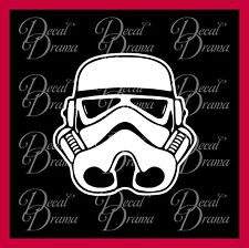 Stormtrooper helmet Galactic Empire Vinyl Car Decal, Star Wars-Inspired Fan Art