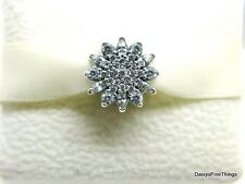 NEW! AUTHENTIC PANDORA CHARM  ICE CRYSTAL  #791764CZ   P