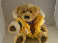 "Iceberg Augie 13"" talking Plush w/Yellow Jacket/Backpack Iceberg Augie & Friends"
