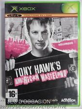 Incomplet jeu TONY HAWK'S AMERICAN WASTELAND microsoft XBOX 1 skate sport game
