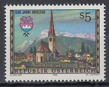 Österreich Austria 1988 ** Mi.1929 Städte Cities Kirche Church Wappen Crest