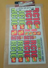 Vintage Team Associated RC10 DS Dual Sport Decal Sheet 8801