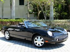 2002 Ford Thunderbird Base Convertible 2-Door