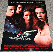 I STILL KNOW WHAT YOU DID LAST SUMMER 1998 ORIGINAL 27x40 MOVIE POSTER! HORROR!