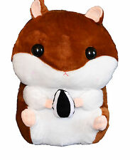 Cute Hamster Plush Backpack Brown 43cm