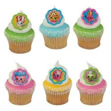 Cake Decorating Cupcake Ring Toppers - Shopkins
