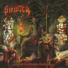 Sinister       the carnage  ending         CD  NEU /  SEALED