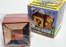 Super Mario Bros. Sound Bank Retro Unbreakable Block Figure JAPAN NES