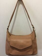 Fossil Vintage Purse Shoulder Bag Leather H:7 L:12 D:4 SD:11
