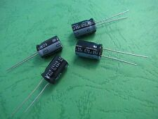 5pcs NICHICON 35V 470uF 105°C Motherboard Capacitors 10mm×16mm
