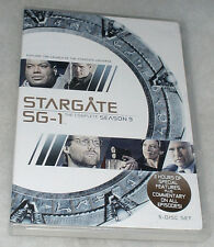 Stargate SG-1 Season 9 Nine Ninth Complete - DVD Box Set - NEW & SEALED