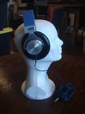 Stanton Model XXI Denim Band Stereo Wafers Retro Headphones HiFi Open Audio VTG