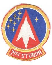 USAF Air Force Patch:   71st Student Squadron - 3 3/4""