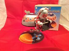 Space Station  China Mars 10 Astronaut Tin Adult Toy Collector Wind UP Robot