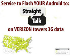 Flash Your Sprint Note 4 to Straight Talk - Verizon Towers 3G Data !