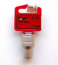 Teng Tools M1205106-C 10mm 1.3cm Antrieb 6 Spitze Metrisch Regulär Steckdose