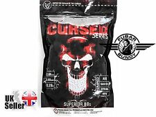 Airsoft Asg Cursed Bb's 0.28g White 6mm 1kg Bag High Precision 18233