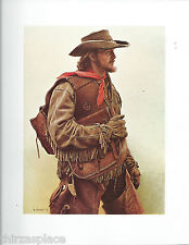 "James Bama, ""Dee Smith with Saddlebags""  Cowboy, Western Art Print"