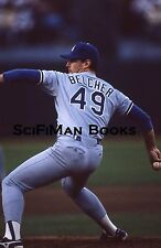 1988 World Series Tim Belcher Los Angeles Dodgers A's Original 35mm Color Slide!
