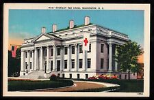 C. 1930s View of the American Red Cross building, Washington, U.S.A.