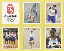 SPORTS - SPORTING PROFILES - SET OF L 20 TEAM GB GOLDS IN BEIJING CARDS  -  2008