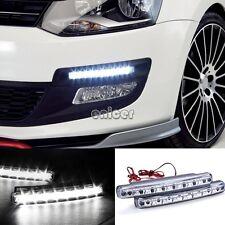 2pcs coches de luces circulación diurna LED DRL 8 Horario de Jefe de la lámpara