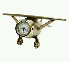 Flyfly Geronimo F671 Limited Edition Vintage Glider Heavy Metal Table Clock