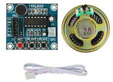 ISD1820 Sound Voice Recording Recorder Module + Mic Audio Loudspeaker CHIP 127