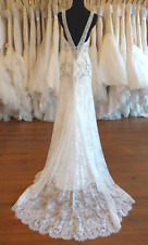 Badgley Mischka Couture ~ Paulina ~ Ivory Wedding Gown ~ size 10