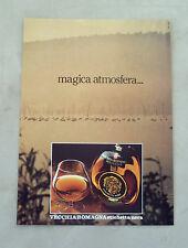 F014 - Advertising Pubblicità - 1984 - VECCHIA ROMAGNA ETICHETTA NERA